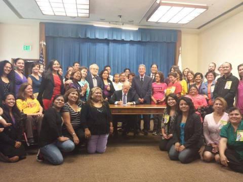 California Domestic Worker Bill of Rights