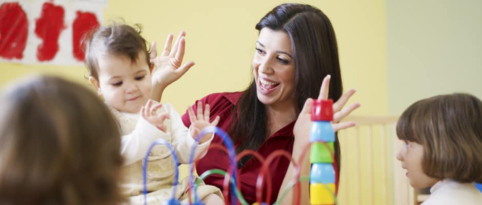 differences between a professional nanny and a babysitter