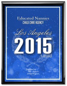Educated Nannies Award