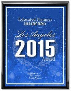 Educated Nannies Award