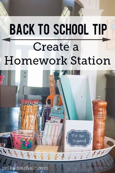Spring Cleaning for Back to School