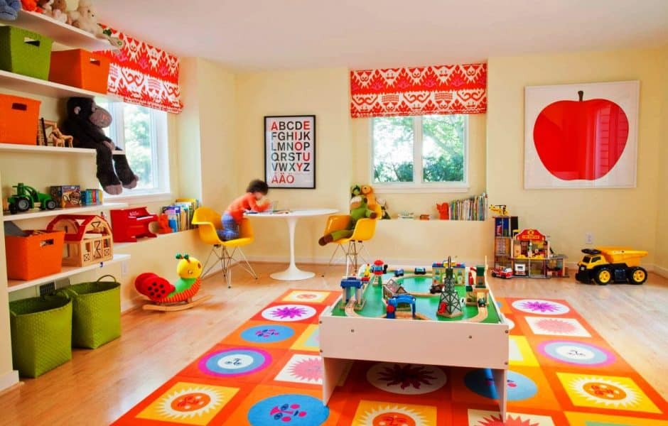 Tips to help you organize your playroom