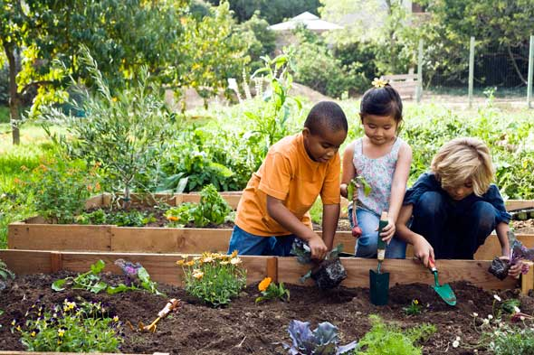 Gardening with your kids is more than just playing in the dirt!